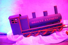 Advent Zagreb, mundo de juguetes en el túnel Gric, 3 Fotografía de archivo libre de regalías