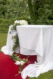 Adventistische Hochzeit im Freien Lizenzfreies Stockbild