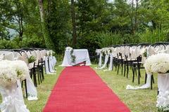 Adventistische Hochzeit im Freien Lizenzfreie Stockbilder