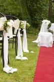 Adventistische Hochzeit im Freien Stockfotografie