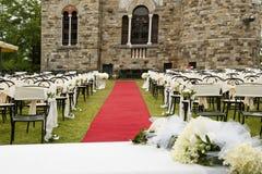 Adventistische Hochzeit im Freien Lizenzfreie Stockfotos