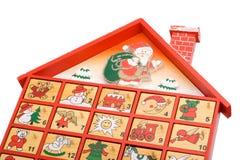 adventkalender royaltyfria bilder