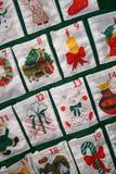 adventkalender Arkivfoton