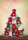 Adventkalender Royaltyfria Foton