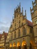 Adventszeit in Muenster, Deutschland Lizenzfreies Stockfoto