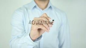 Adventure Awaits, Writing on Screen stock video footage