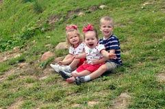 Adventure in Babysitting stock image
