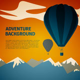 Adventure background Stock Images