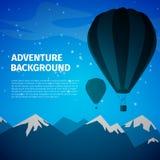 Adventure background Stock Photography