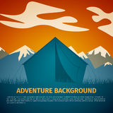 Adventure background Royalty Free Stock Images