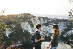 Adventure, Backpack, Backpacker royalty free stock images