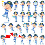 Adventure boy 2. Set of various poses of adventure boy 2 Royalty Free Stock Photography