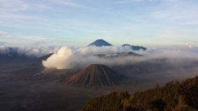 Adventure at bromo surabaya Stock Image