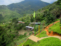 Adventure camp park in a rural zone in Cali, Colombia Stock Images