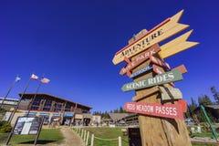 Adventure center in Mammoth Lake Stock Photos