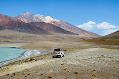 Adventure Chilean Altiplano Stock Photos