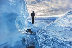 adventure cold frozen Royalty Free Stock Photography