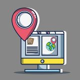 Adventure destination travel to vacation tourism. Vector illustration vector illustration