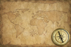 Adventure and exploration vintage background Stock Photos