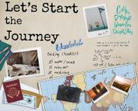 Adventure Explore Discover Journey Trip Concept Stock Photos