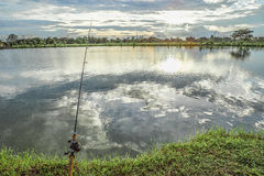 Adventure fishing Royalty Free Stock Images