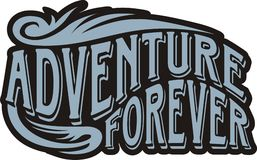 Adventure forever Royalty Free Stock Photography
