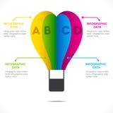 Adventure info-graphics design  Stock Photos