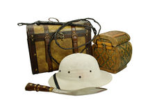 Adventure kit Stock Photography