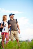 Adventure lovers Stock Images