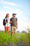 Adventure lovers Stock Image