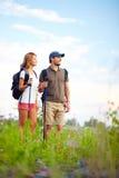 Adventure lovers Stock Image