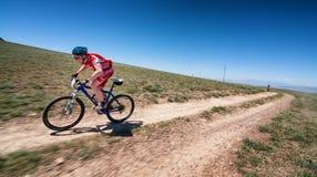 Adventure mountain bike cross-country marathon Stock Image