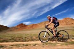 Adventure mountain bike cross-country marathon Stock Photography
