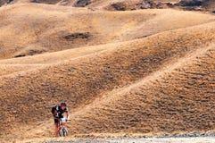 Adventure mountain bike marathon Royalty Free Stock Image