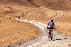 Adventure mountain bike marathon Royalty Free Stock Photography
