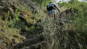 Adventure in Nature. stock video