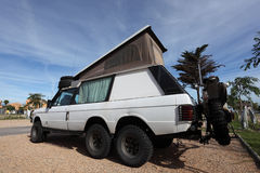 Adventure offroad vehicle Stock Photo