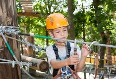 Adventure park Stock Image