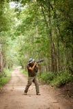 Adventure photographer Royalty Free Stock Photography