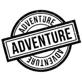 Adventure rubber stamp Royalty Free Stock Image