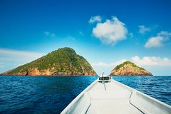 Adventure on the sea Stock Image