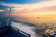 Adventure on the sea Royalty Free Stock Images