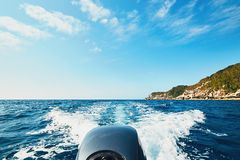 Adventure on the sea Royalty Free Stock Image