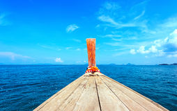 Free Adventure Seascape Background Of Trip Journey By Tourist Boat Stock Photo - 58995430