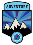 Adventure sign Royalty Free Stock Images