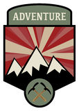 Adventure sign Stock Image