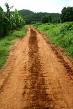 Adventure soil road Stock Image