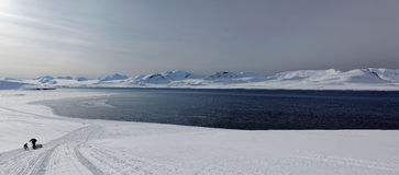 Adventure in Svalbard Royalty Free Stock Photos