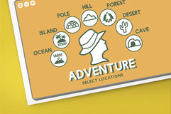 Adventure Travel Journey Experience Concept Royalty Free Stock Photo
