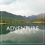 Adventure Travel Nature Concept Stock Photo